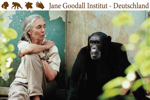 Jane Goodall in Deutschland